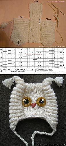 Вязание спицами шапочки для новорожденного