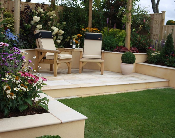 85 best contemporary patio landscaping ideas images on for Garden seating areas