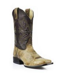 Stetson® mænd Elias Wide Square Toe Boots