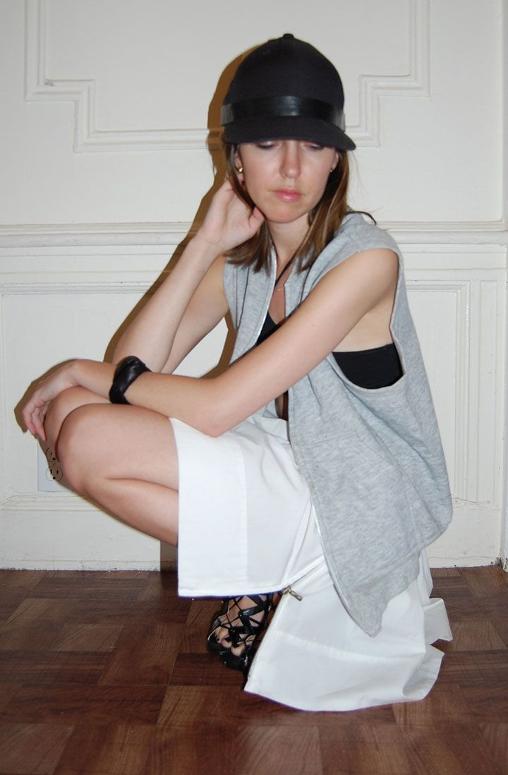 DIY Leather Strap Baseball Hat, Proenza Schouler Skirt ...