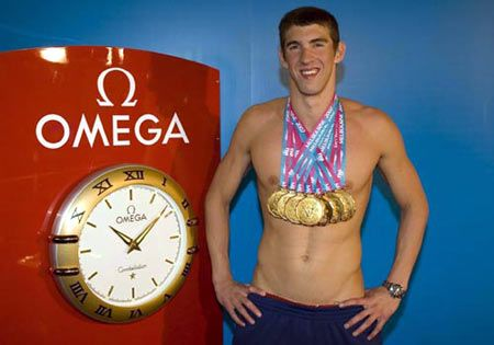 8 gold medals in one Olympics. NBD