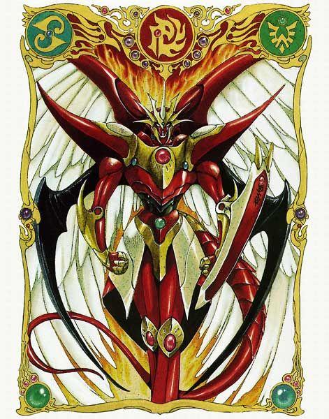 Combined Rayearth - Magic Knight Rayearth #mecha