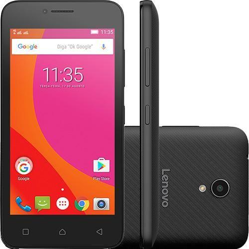 "Shoptime - Smartphone Lenovo Vibe B Android 6.0 Tela 4.5"" 8GB 4G 5MP R$ 449,10"