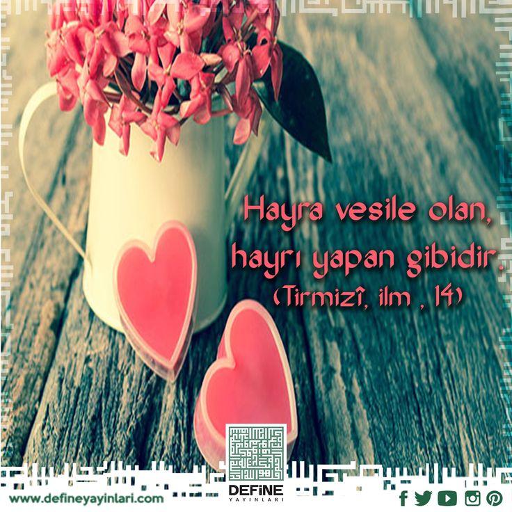 Haftanın hadisi… #define defineyayınları #dua #pray #hayr #sadaka #infak #yardım #vesile #muhtaç #hadis #hadisişerif #vesileolmak #iyilik