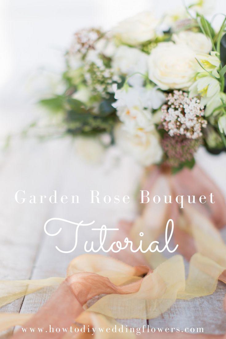 simple do it yourself wedding ideas%0A How to Make a Bouquet  Diy Wedding FlowersWedding