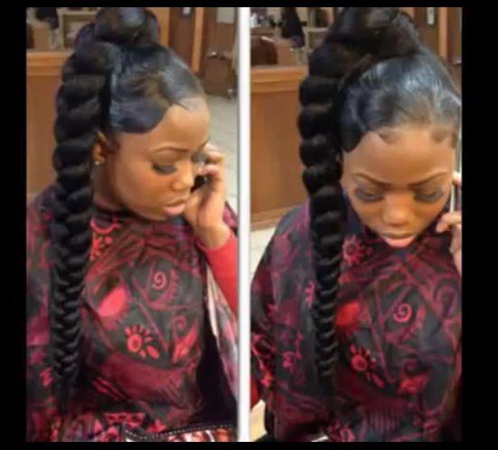 jumbo braid laid hair flow pinterest braids hair and ponytail