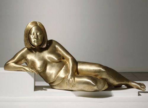 PARK Soo Young | fio de bronze, fibra de vidro, lifecasting | 68 x 68 x 146 cm | 2008: Park Seungmo, Sculptures Park, Arts Crafts, Parks, Bronze Wire, Wire Sculptures, Arts & Crafts