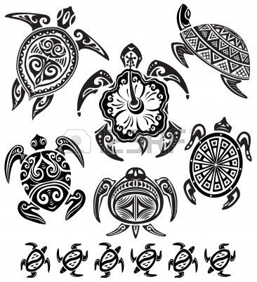 9929777-tortugas-decorativas.jpg (366×401)