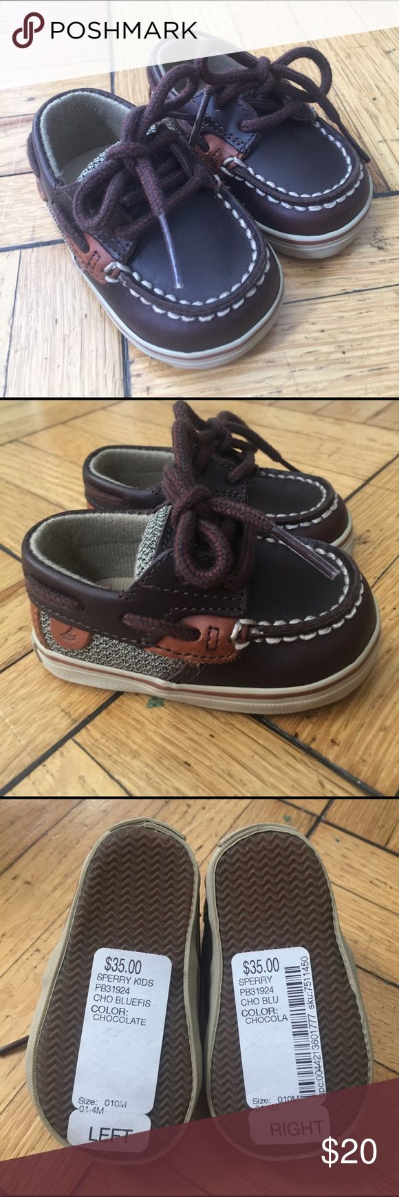 Baby Sperry Top-Sider Boat Shoes NWT! Size 1 Sperry Top-Sider Shoes Baby & Walker