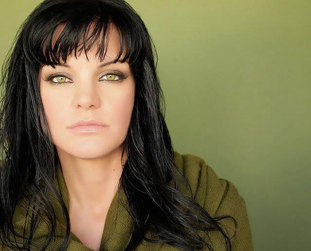 Pauley Perrette - amazing eyes!! Abby, Abbs, NCIS, gorgeous green eyes, celeb, female actress, natural beauty, love her style, portrait, photo