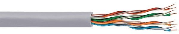 vextra - cat-5e cable, 1000-ft box (gray) Case of 12