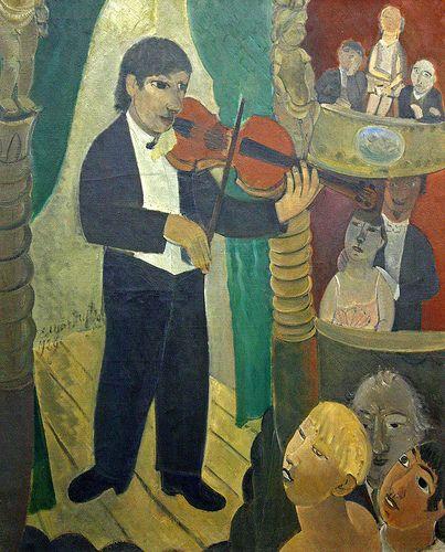 Edgard Tytgat (1879-1957) was een Belgisch expressionistisch kunstschilder, boekbandontwerper en graficus.Pas na de Eerste Wereldoorlog ontwikkelde hij de stijl waarmee hij bekend geworden is. Tytgat sloot zich aan bij de Brabantse fauvisten die zich verenigd hadden rondom Rik Wouters. Tytgats favoriete onderwerpen waren het circus, kermissen (met name carrousels), naakten en interieurs. In de stijl van Tytgat is de invloed van primitieve volkskunst duidelijk aanwezig.