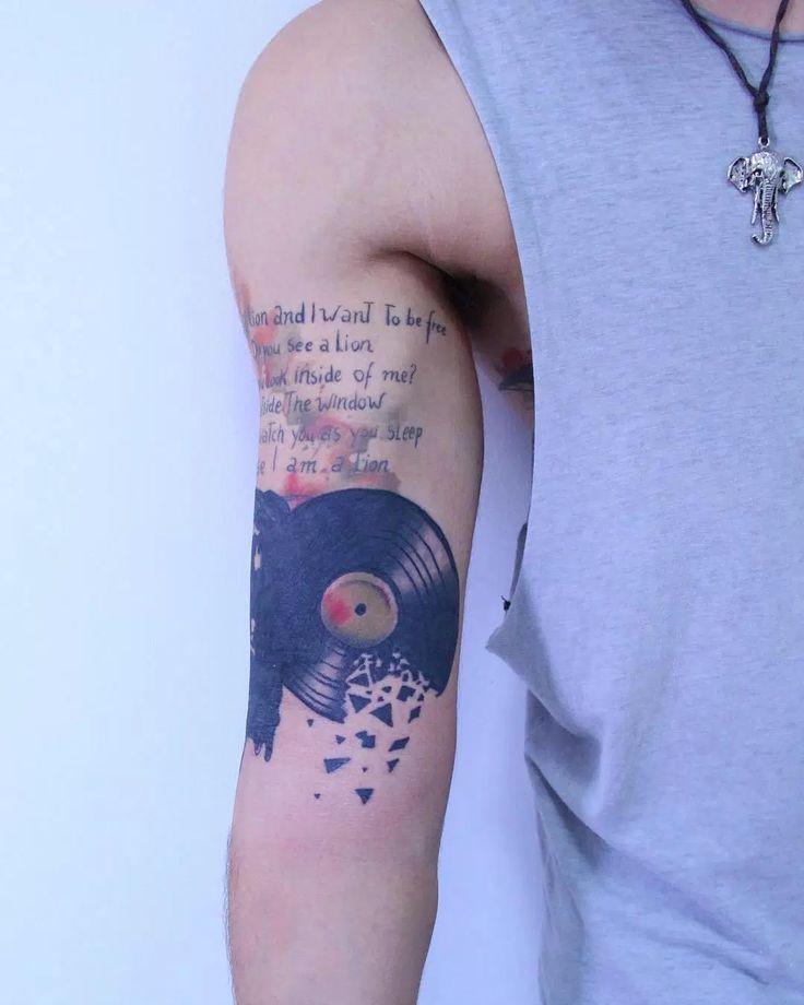 spesso Oltre 25 fantastiche idee su Tatuaggi musica su Pinterest  LH16