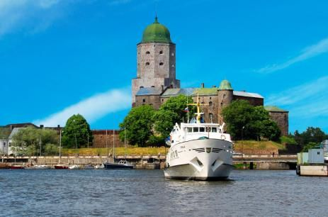 City break, 1 day in Vyborg - VISA-FREE - Saimaa Travel    Take a visa-free cruise to Vyborg by Finnish m/s Carelia along the historic Saimaa Canal. In Vyborg you have a few hours to see and feel the city.