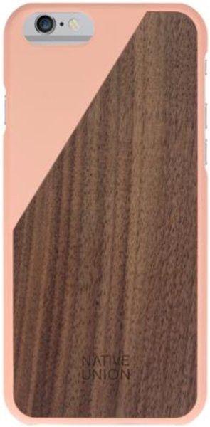 De unieke CLIC Wooden cases van Native Union móet je hebben voor de iPhone 6 Plus. De combinatie van hout met een Blossom-kleur geeft een eigen en unieke uitstraling!