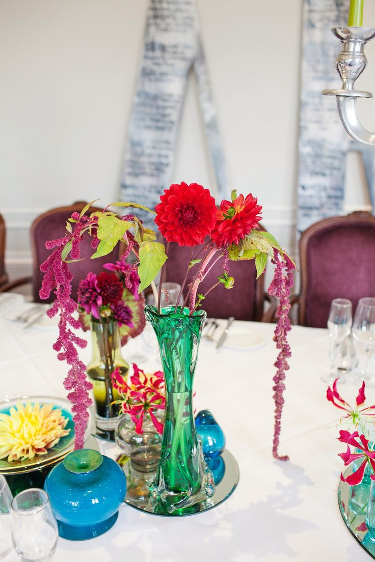 budget wedding photography west midlands%0A Alternative  colourful wedding styling and flowers by Ava Event Styling   Graffiti  retro glass