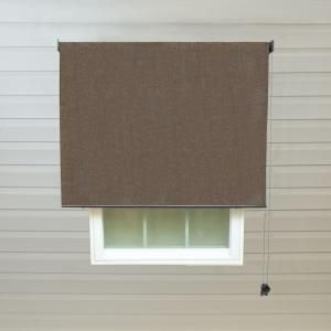 Radiance Cocoa Exterior Rollup Shade   72 In. W X 72 In. L. Patio ShadeSun  ShadeDeck PatioHome DepotTiny ...