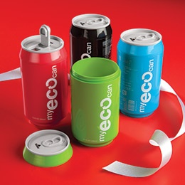 Eco Soda Can: Water Bottle, Gadgets, Cups, Diet Pepsi, Cute Idea, The Offices, Stockings Stuffers, Gifts Idea, Drinks
