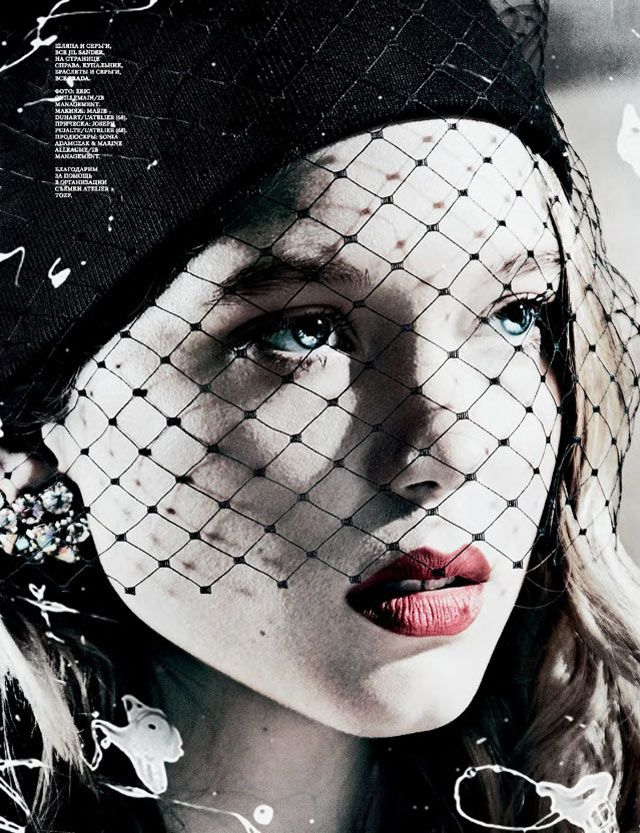 Léa Seydoux by Eric Guillemain for Interview Russia March 2012