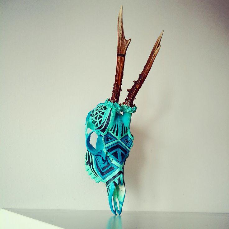 skull art VI / INKTICA / Jagoda Matuła
