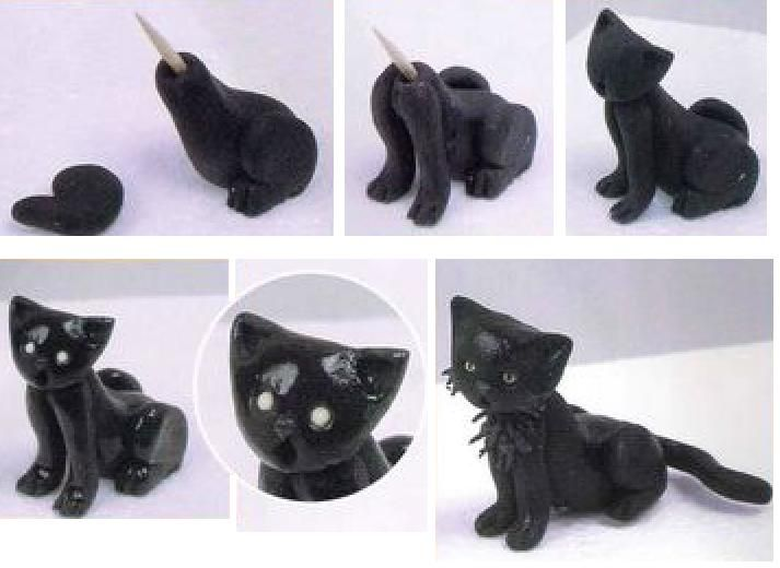 Black Cats Halloween Fondant Cakes | http://otiskyprstu.ic.cz/dorty_netu_soubory/model_kocicka.jpg