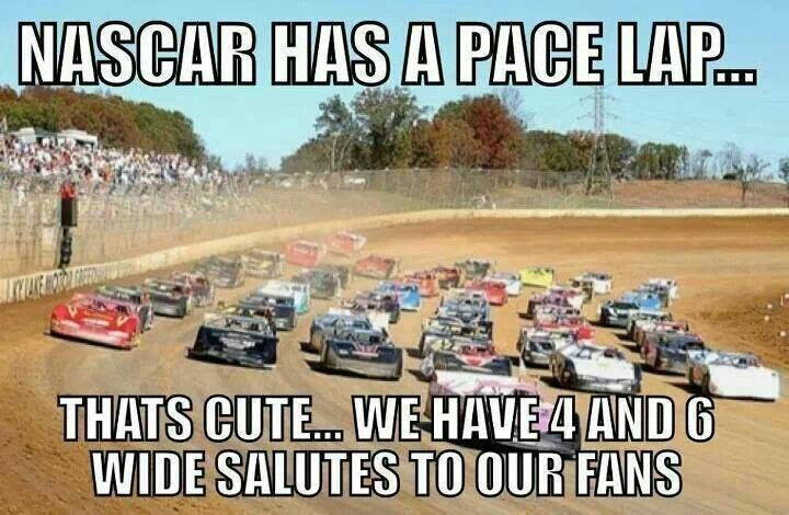 Why DIRT racing is better