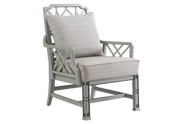 Brighton Lounge Chair, Gray