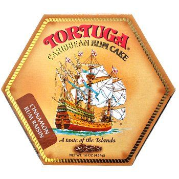 Tortuga Rum Cakes 33oz Cinnamon Rum Raisin Rum Cake...that would have been great gifts to bring home, next trip