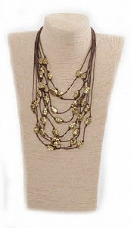 accesorii colier maro cu auriu http://accesorii.fashion69.ro/colier-maro-cu-auriu/p65080