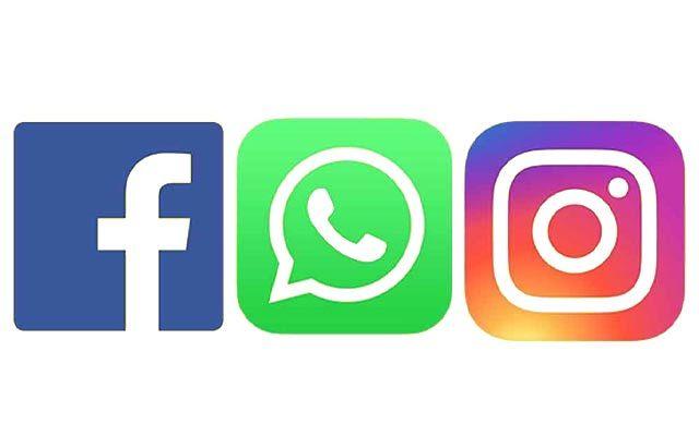 Facebook Instagram Whatsapp Back To Normal After Outage Facebook Instagram And Whatsapp Went Down For Logo Facebook Logo Illustration Design Instagram Logo