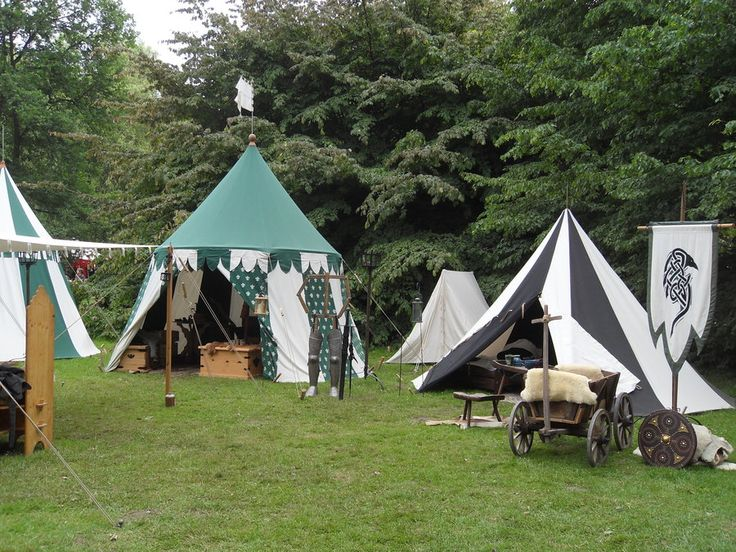 Medieval Tent life by Kroenen1488 on DeviantArt & 121 best Camping Medieval Style images on Pinterest | Tents ...
