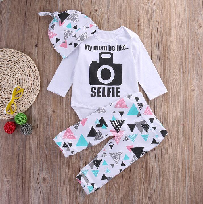 My mom be like... Selfie! - Three Piece Set