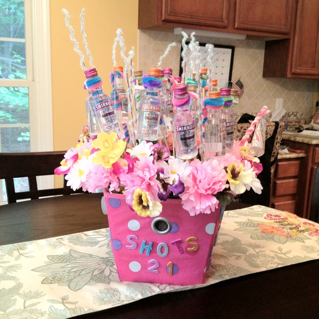 Great Idea For 21st Birthday