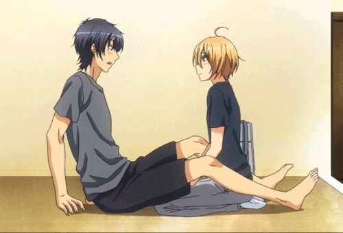 anime, gif, and boys image