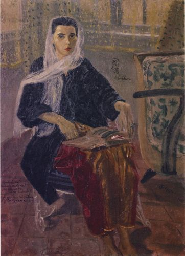 S. Sudjojono - Rose Istriku
