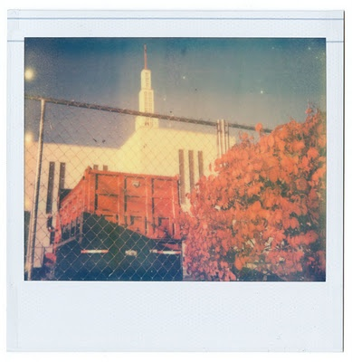 Polaroid Spectra (Impossible) Photo by Christopher Hutchinson