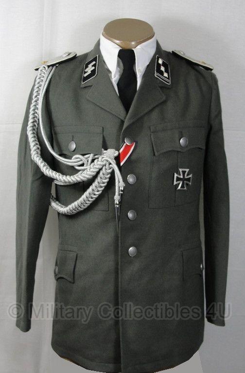 Uniform jas grijs leger - met broek - 95% scheerwol - GRP - ook als wo2 Duits geschikt - origineel € 29,95 Uniform jas grijs leger - met broek - 95% scheerwol -  GRP - ook als wo2 Duits geschikt - origineel