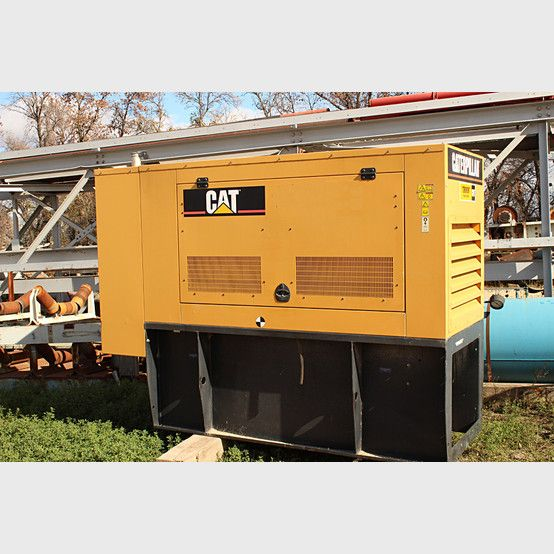 Cat Diesel Generator supplier worlwide - Used Cat 100 KW diesel generator for sale - Savona Equipment #caterpillar #finning #CatFinning
