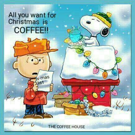 All you want for Christmas is coffee!!