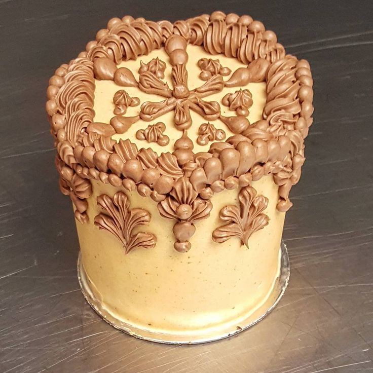 Chocolate Cake With Cinnamon Buttercream
