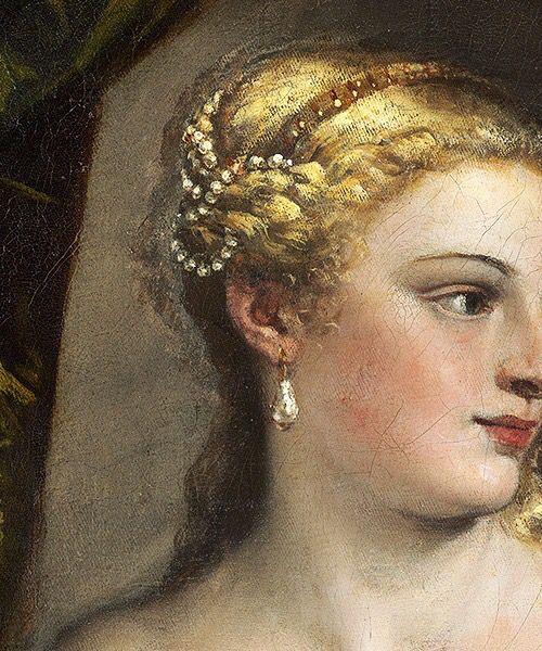 Вечеллио Тициан. Венера перед зеркалом. 1555г Национальная галерея, Вашингтон