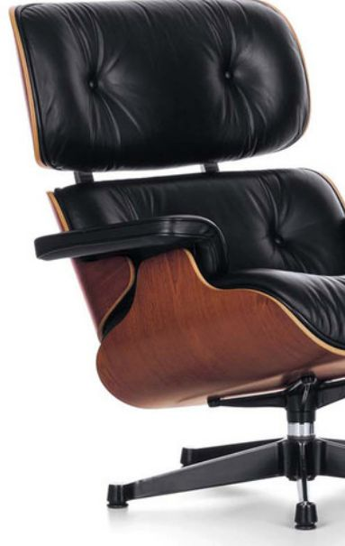 The Vitra Eames Lounge Chair was first designed by Charles and Ray Eames in 1956 and has since become an all-time classic.