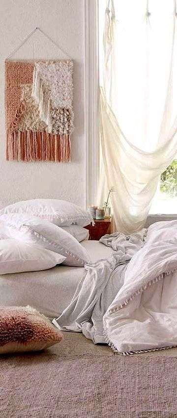 Boho Duvet Cover, Home decor idea #affiliate #bohemian #bedroom