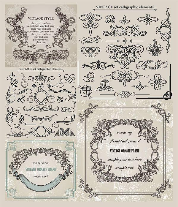 無料の飾り枠・飾りケイ・フレーム素材(ベクターデータ) - Free-Style                                                                                                                                                     もっと見る