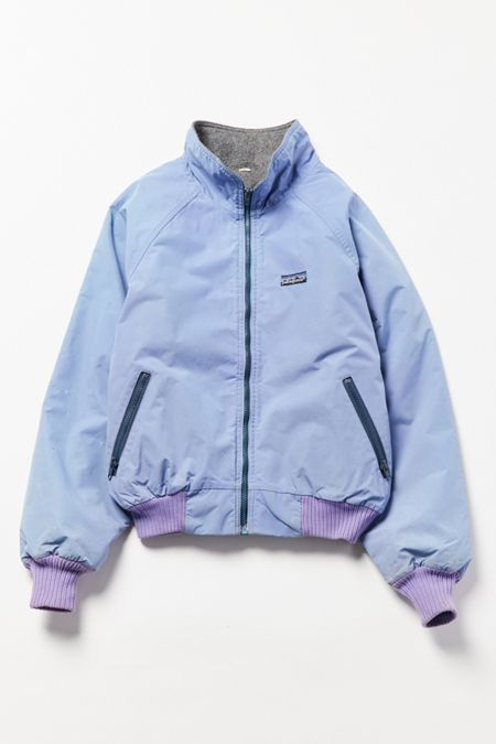 29745b70a17 Vintage Patagonia Lilac Fleece-Lined Bomber Jacket | My Style in ...
