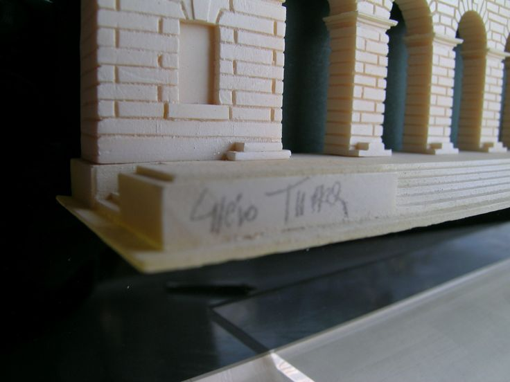 Palazzo della Gran Guardia di Verona - scala 1:200