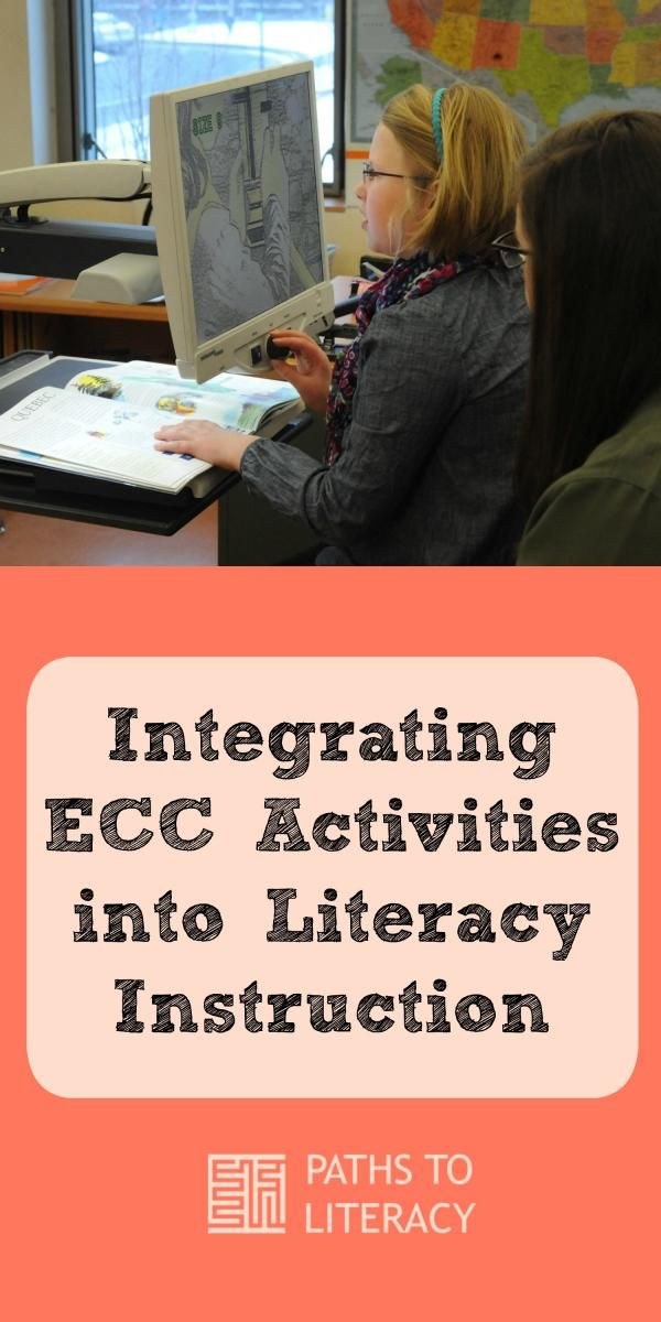 Ideas to integrate ECC activities into literacy
