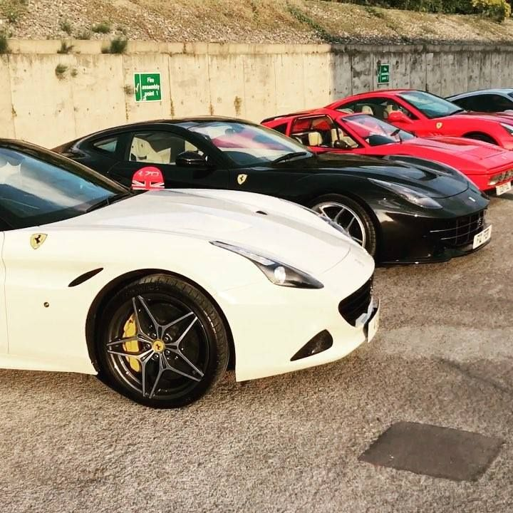 Ferrari's everywhere! 😍😍😍 Video By Jag Chohan #cardoings #cars #supercars #auto #BMW #Audi #Mercedes #Deals #automotive