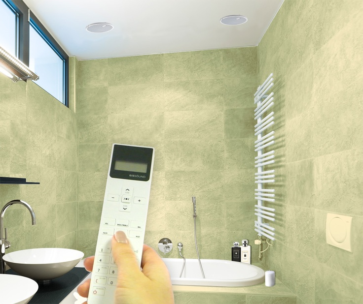 Bathroom dab radio systems