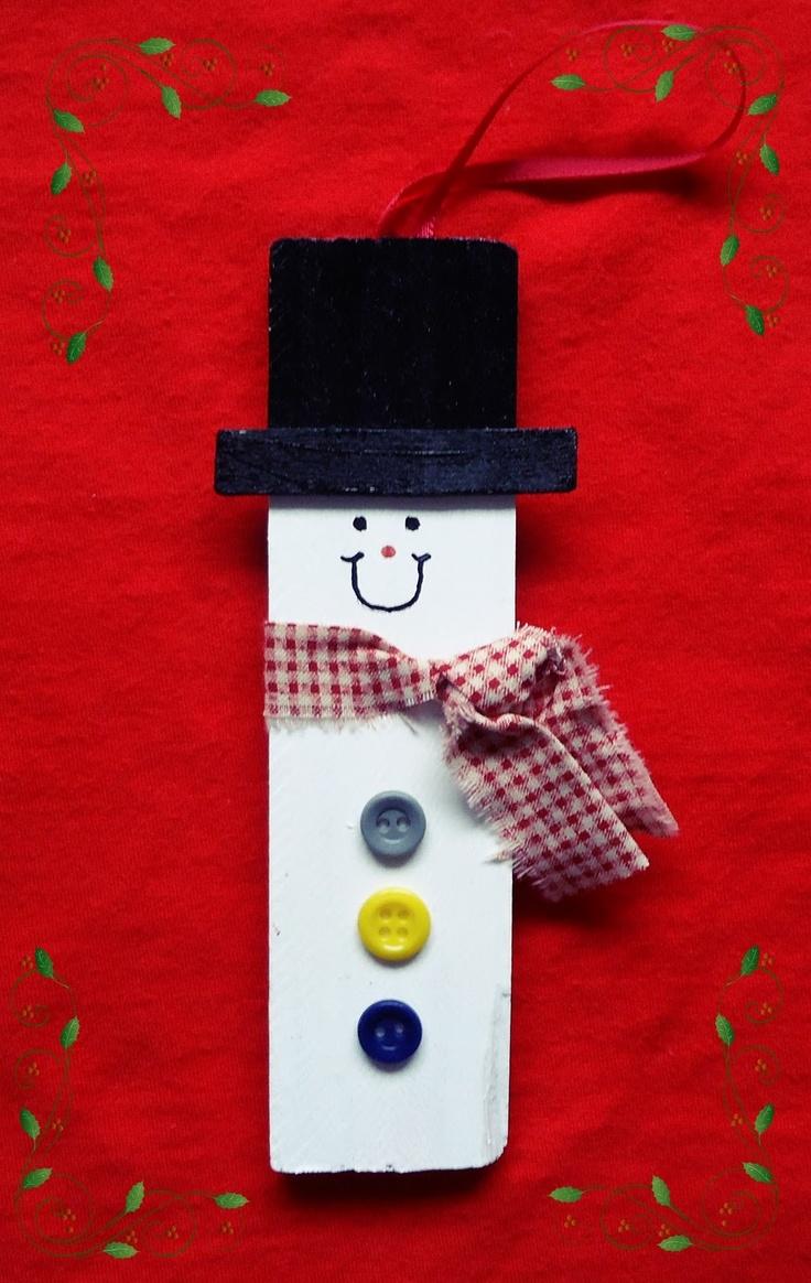 Paint Stirrer Snowman